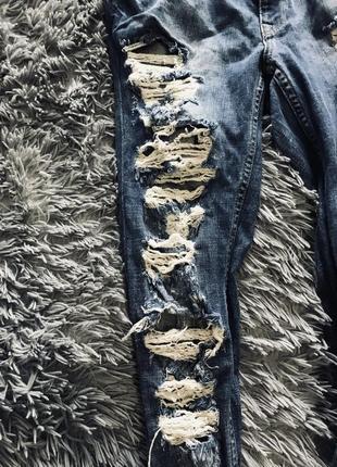 Рваные джинсы хс3