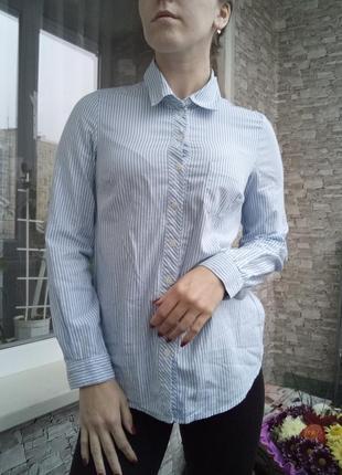 Рубашка в полоску2