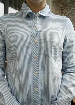 Рубашка в полоску4