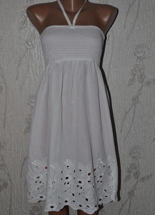 Платье сарафан м-л-хл размер1 фото