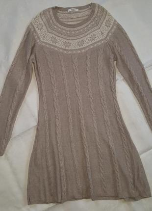Вязаное платье от marks & spencer1
