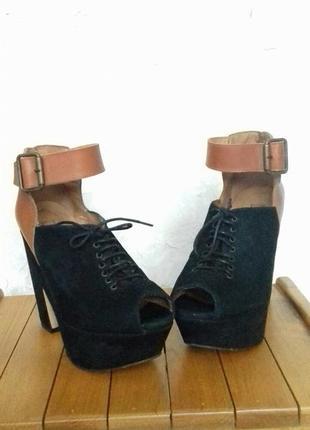 Испания туфли замш2