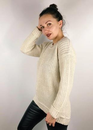 Удлиненный асимметричный свитер1 фото
