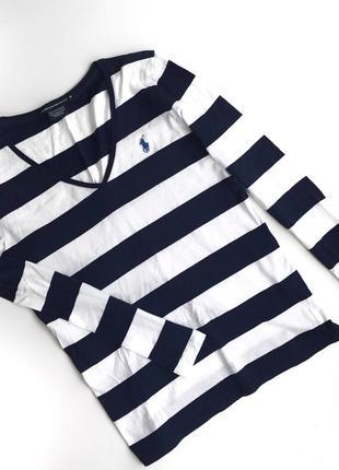 Лонгслив хлопковый  ralph lauren футболка с длинным рукавом