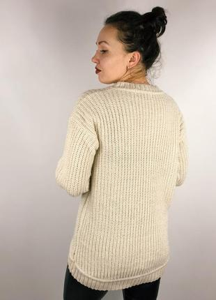 Удлиненный асимметричный свитер3 фото