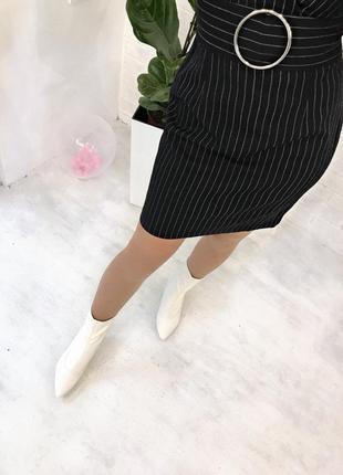 Шикарне плаття в костюмному стилі секси платье в полоску4