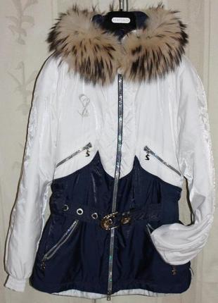 Элитный горнолыжный костюм куртка+штаны от австрийского бренда sportalm, 36р зима1