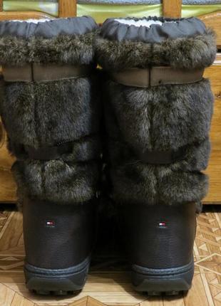 Зимние сапоги угги унты луноходы tommy hilfiger aspen(оригинал)р.41-423
