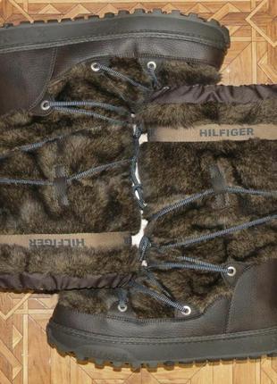 Зимние сапоги угги унты луноходы tommy hilfiger aspen(оригинал)р.41-422