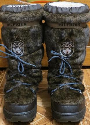 Зимние сапоги угги унты луноходы tommy hilfiger aspen(оригинал)р.41-42