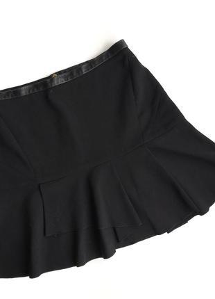 Черная юбка sandro paris