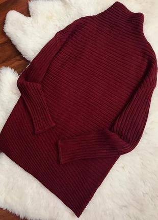 Крутой шерстяной свитер , гольф , кофта в составе шерсть1 фото