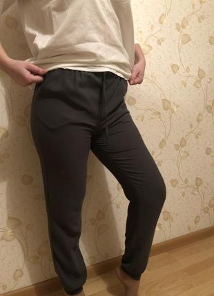 Брюки штаны с манжетами1