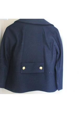 Теплое шерстяное пальто дорогого бренда max&co2