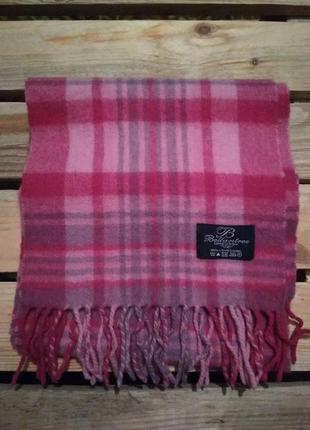 Мягонький шарф из шерсти ягнёнка ballantrae