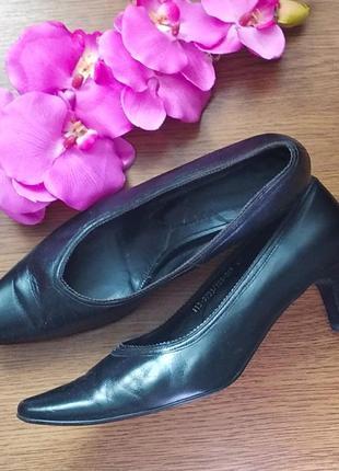 Кожаные туфли 💕1 фото