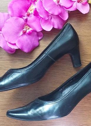 Кожаные туфли 💕3 фото