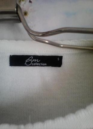 Bm нежная кофточка спереди гипюровая, красотка , р 48-503