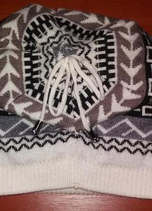 Комплект шапка шарф4