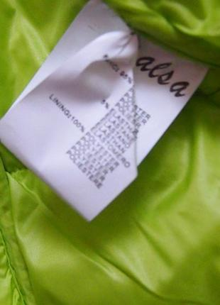Куртка деми-лето resalsa м-л салатовая тонкий синтепон3
