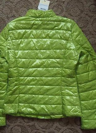 Куртка деми-лето resalsa м-л салатовая тонкий синтепон5