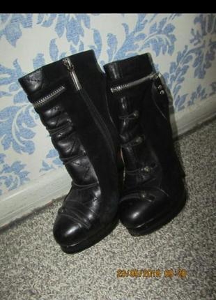 Ботильоны, ботинки, полусапоги1 фото