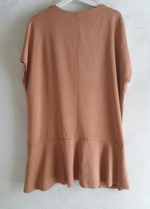 Свободное платье свитшот(футболка) zara3