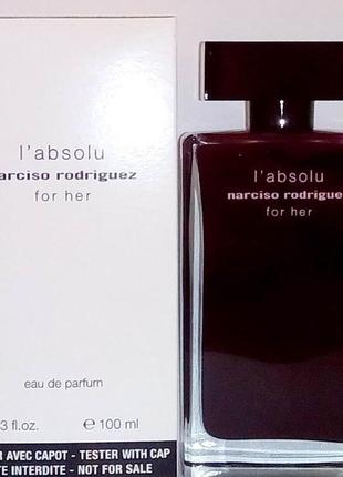 Narciso rodriguez for her l absolu edp 100 ml w tester1