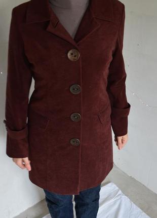 Замшевый кардиган, плащ, легкое пальто 40-42р-р1