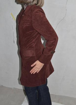 Замшевый кардиган, плащ, легкое пальто 40-42р-р3