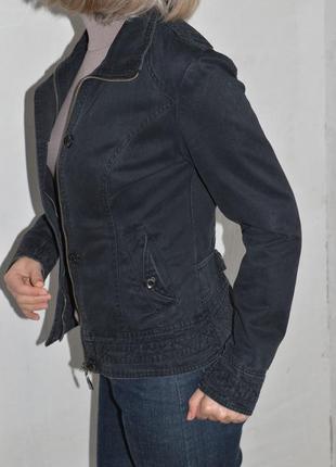 Приталенный пиджак, ветровка, легкая куртка, коттон 40-42р-р2