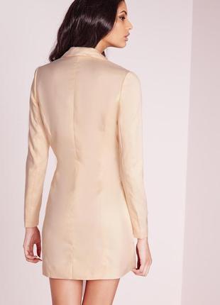 Стильное платье-пиджак от missguided2