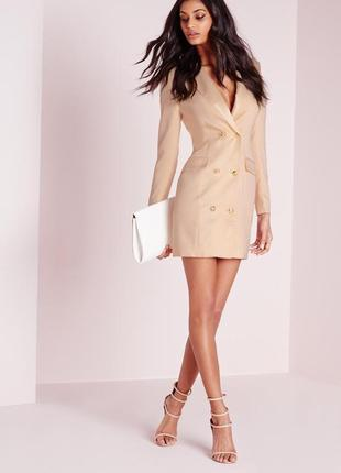 Стильное платье-пиджак от missguided1