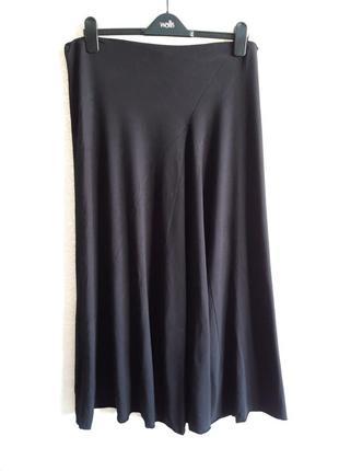 Топовая трикотажная юбка миди!3 фото