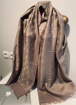 Платок шарф палантин шерсть кашемир4 фото