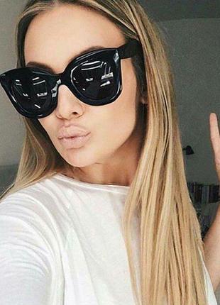 Скидка!новые,стильные,тренд,модные,солнцезащитные очки,поляриз градиент лео принт1 фото