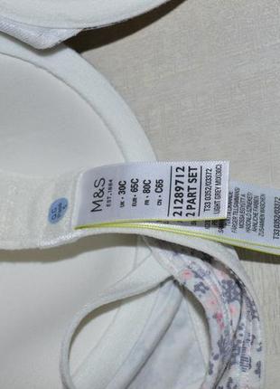 Распродажа, sale!!! коттоновый бюстгальтер м&s, 65с2 фото