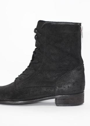 Натуральные ботинки1 фото