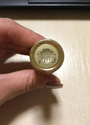 Помада yves saint laurent rouge volupte perle4