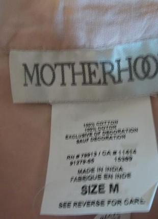 Motherhood блуза из хлопка2 фото