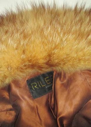 Шуба,шубка ,полушубок натуральный мех камышовый кот-енот! 46-48р5
