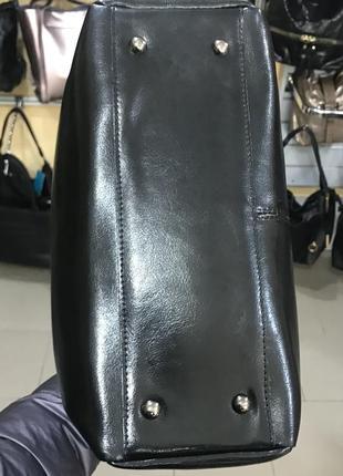 Кожаная сумка на плечо и в руку3