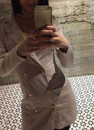 Стильное платье-пиджак от missguided3