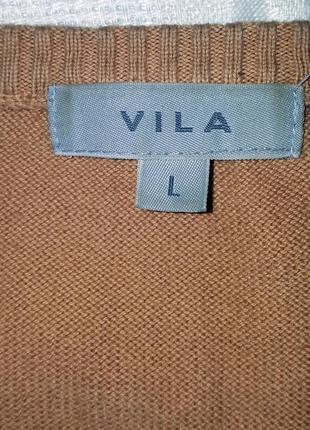 Джемпер коттоновый в пастельных тонах от vila2