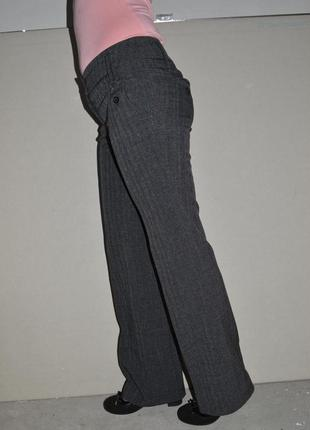 Классические серые женские брюки 44р-р