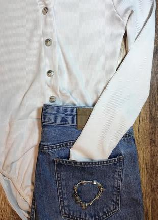Блуза - боди из мягкого трикотажа3
