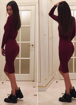 ♡платье по фигуре bershka♡1