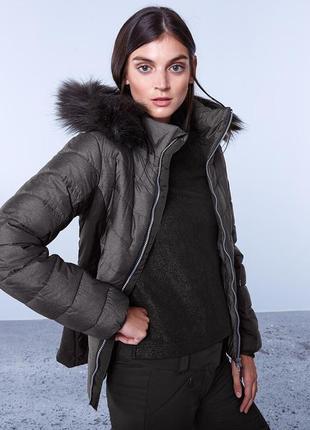 Лыжная стеганая куртка тсм tchibo германия1