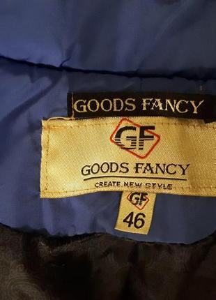 Пуховик goods fancy3