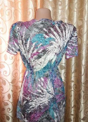 Красивая женская футболка с глубоким вырезом per una от marks & spencer5